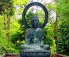 Gautama Buddha seated