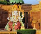Ganesha, Ganesa or Ganesh, the god of wisdom and literature