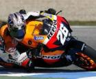 Dani Pedrosa piloting its moto GP
