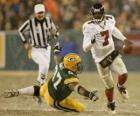 Michael Vick running with ball in hand