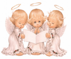 Three angels singing