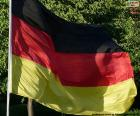 The flag of Germany is a tricolour consisting of three equal horizontal bands colors black, red and gold