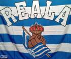 Flag of Real Sociedad