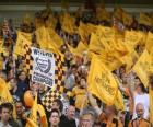 Flag of Wolverhampton Wanderers F.C.