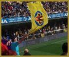 Flag of Villarreal C.F.