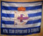 Deportivo de La Coruña flag