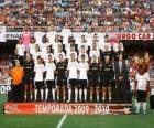 Team of Valencia C.F 2009-10