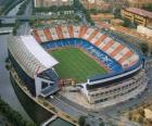 Stadium of Atlético de Madrid - Vicente Calderón -