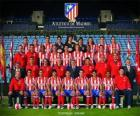 Team of Atlético de Madrid 2008-09