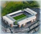 Stadium of Blackburn Rovers F.C. - Ewood Park -