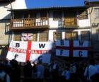 Flag of Bolton Wanderers F.C.