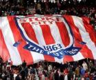 Flag of Stoke City F.C.