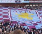 Flag of Aston Villa F.C.