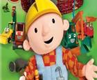Bob the Builder with their machines
