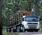 Truck transport of logs