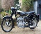 Classic road motorcycle