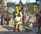 Shrek with Arthur possible successor to the throne