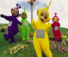 The Teletubbies: Laa-Laa, Tinky Winky, Po and Dipsy