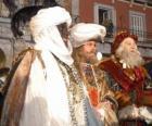 The Magi or Three Wise Men, Caspar, Melchior and Balthasar