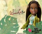 Sasha - Bunny Boo - Bratz is the first African American. His middle name is Edith, is narcissism, but that's normal (for her).