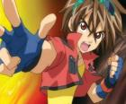 Dan Kuso, leader of the Bakugan Brawlers