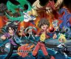 Bakugan Brawlers, the warriors
