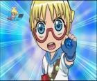 Choji Marukuro or Marucho is a student of strategy and the brain of Bakugan Team