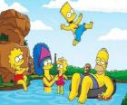 The Simpson family a summer Sunday