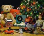 Pretty Christmas presents under the tree