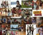 Several pictures of Camp Rock