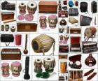 Instruments varied