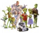 Main Characters of Planet 51
