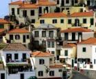 Typical houses of the village of Câmara de Lobos - Madeira - (Portugal)