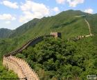 The Great Wall of China, ancient fortification to protect the northern border of the Chinese empire