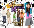 "Main characters from Hannah Montana, Miley Ray Stewart, Lillian ""Lilly"" Truscott, Oliver Oken, Rod Stewart Jackson, Robby Ray Stewart and Rico Suave"