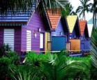 Houses colors, Bahamas