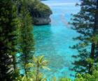 Reefs and ecosystems, the French archipelago of New Caledonia, located in the Pacific Ocean.