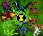 The 10 personalities original Ben 10 aliens