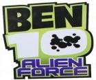 The logo of Ben 10 Alien Force