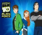 Ben 10 with friends