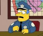 Clancy Wiggum - Chief Wiggum and his office