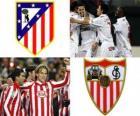 Final Copa del Rey 09-10, Atlético de Madrid - Sevilla FC