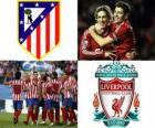 UEFA Europa League, semifinal 2009-10, Atlético de Madrid - Liverpool FC