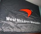 McLaren F1 flag