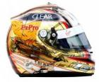Timo Glock helmet 2010