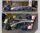 Aerial side view and F1 HRT