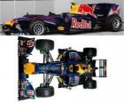 Aerial side view of the Red Bull Air RB6