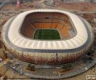 Soccer City, aerial view