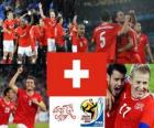 Selection of Switzerland, Group h, South Africa 2010