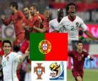 Selection of Portugal, Group G, South Africa 2010